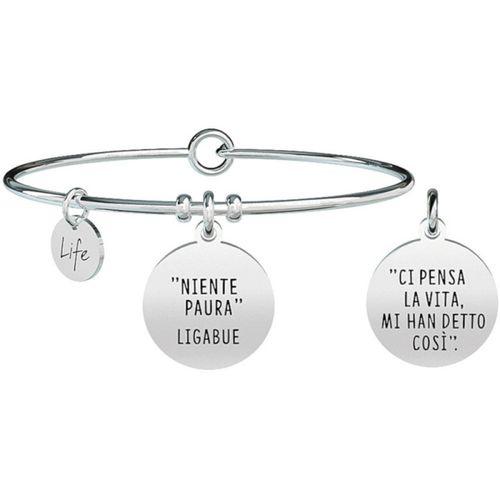 "Bracciale KIDULT Ligabue Collection ""Niente paura"""