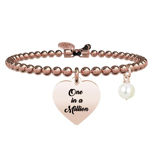 Bracciale KIDULT Love in acciaio - One in a million