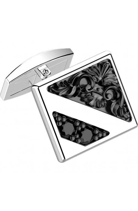 Gemelli in argento ZANCAN da uomo - Gotik EXG 045