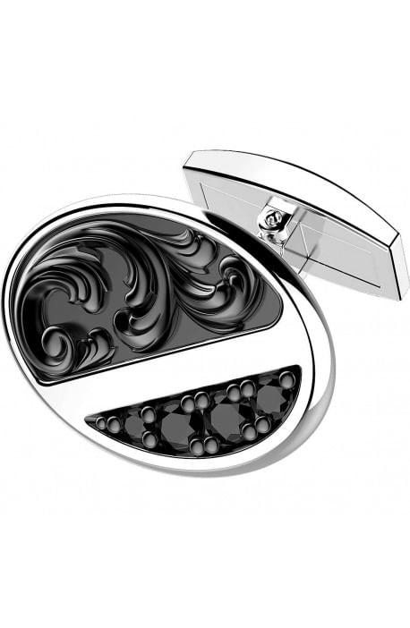 Gemelli in argento ZANCAN da uomo - Gotik EXG 046
