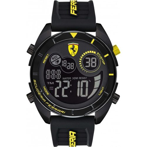 Orologio Ferrari forza digitale giallo - FER0830552