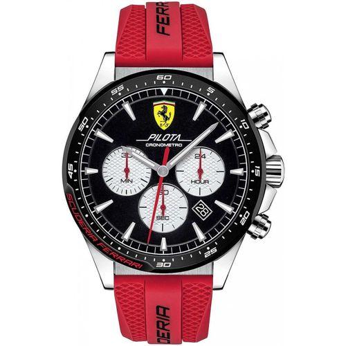 Orologio Ferrari pilota nero crono - FER0830596