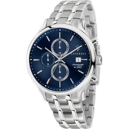 Orologio Maserati gentleman acciaio e blu