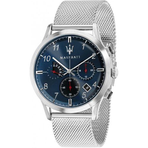Orologio Maserati ricordo acciaio e blu R8873625003