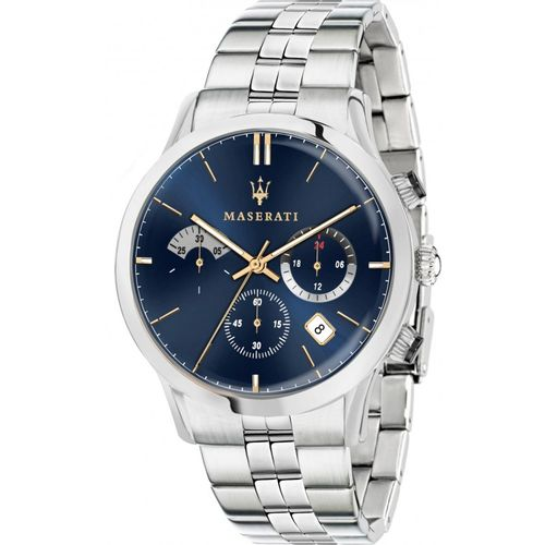 Orologio Maserati ricordo acciaio e blu R8873633001