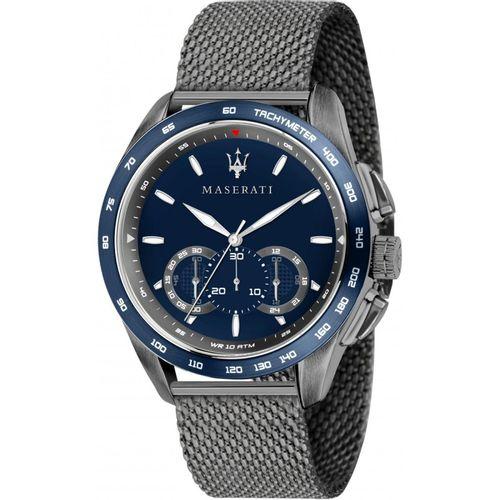Orologio Maserati traguardo blu e grigio scuro