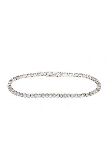 bracciale tennis diamanti ANNIVERSARY RECARLO kt. 1,30 oro bianco