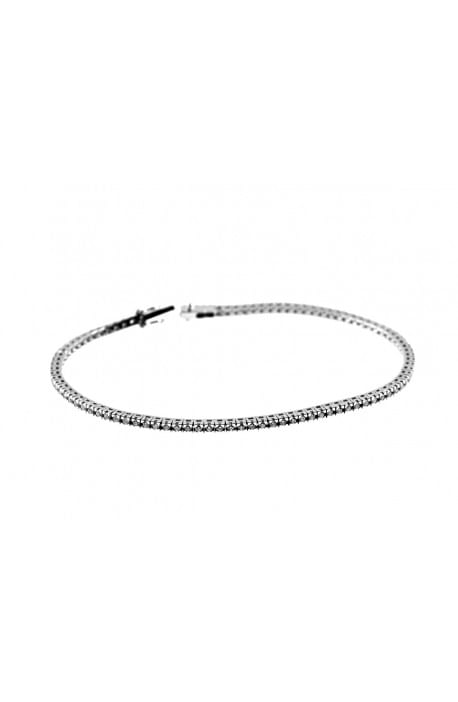 bracciale tennis diamanti kt. 4,00 Opera Italiana Jewellery