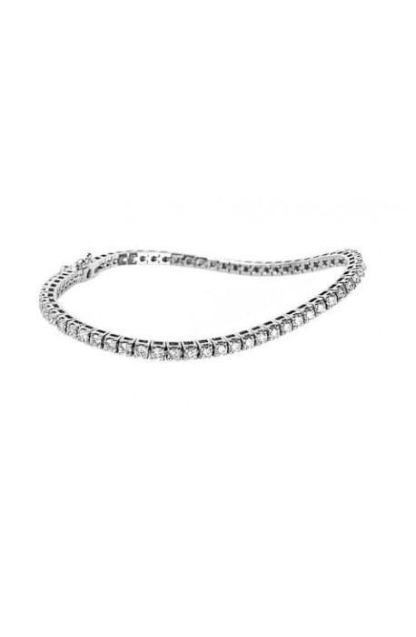 bracciale tennis diamanti oro bianco RECARLO kt. 2,10