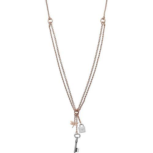 Emporio Armani Collana donna Chained. In acciaio inossidabile rose gold