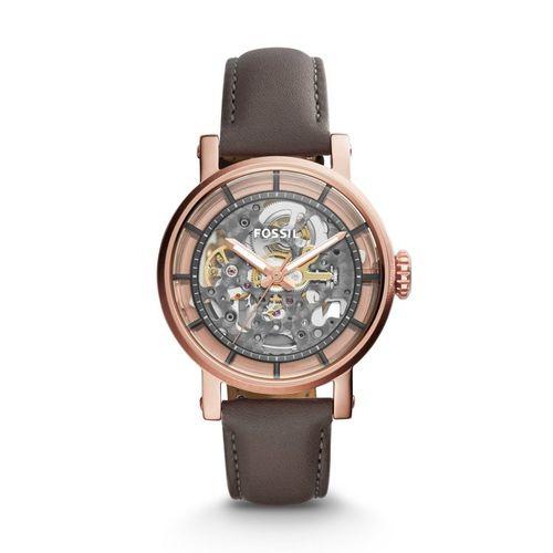 Fossil orologio donna O. Boyfriend A. Cinturino in pelle di colore marrone ME3089