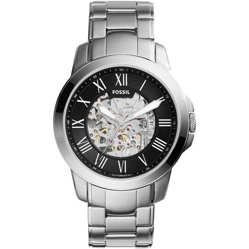 Fossil orologio uomo Grant Automatic. In acciaio con quadrante di colore nero   ME3103