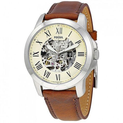 Fossil orologio uomo Grant Automatic. In acciaio con finitura mista. ME3099