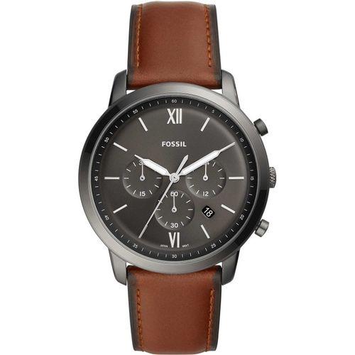 Fossil orologio uomo Neutra Chrono. In acciaio inossidabile di colore fume' FS5512