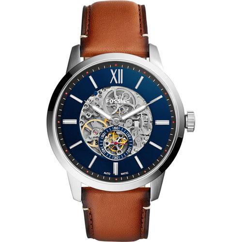 Fossil orologio uomo Townsman A. In acciaio inossidabile. Il quadrante è di colore blu. ME3154