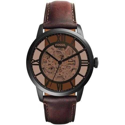 Fossil orologio uomo Townsman A. In acciaio placcato nero. ME3098