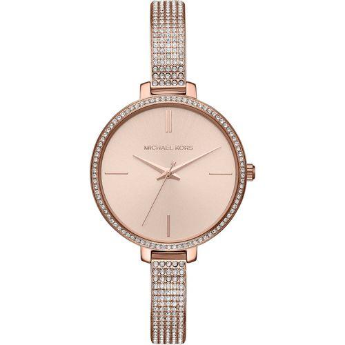 Michael Kors orologio donna Jaryn.  In acciaio inossidabile di colore rose gold. MK3785
