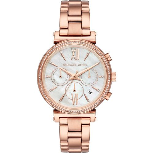 Michael Kors orologio donna Sofie. Quadrante di colore madreperla. MK6576