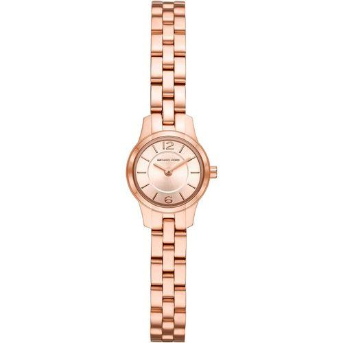 Michael Kors orologio donna Runway.  In acciaio inossidabile di colore rosè   MK6593