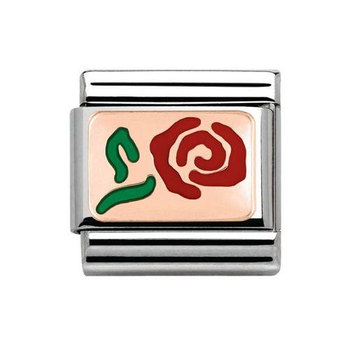 Nomination composable link rosa bianco
