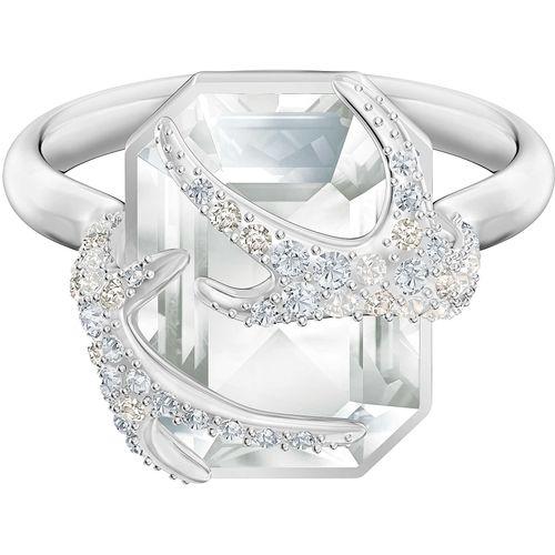ANELLO SWAROVSKI  POLAR : cristalli cry  Tg 52