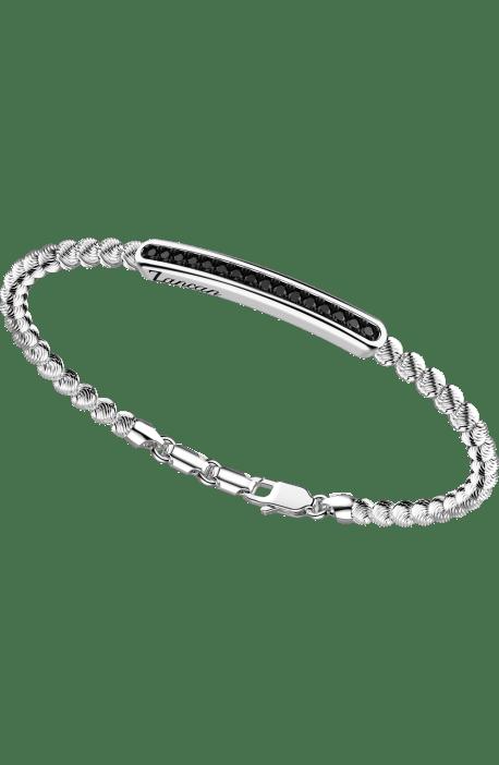 bracciale in argento 925, ATOMOSPHERE ZANCAN, Rodio Nero e spinelli EXB 721?B
