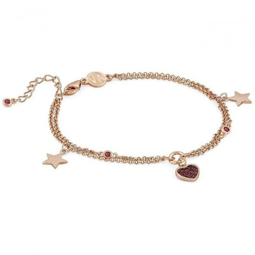 NOMINATION Bracciale NIGHTDREAM Cuore Oro Rosa in Argento 925 + zirconi