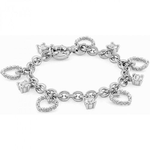 NOMINATION Bracciale ROCK IN LOVE Ed. Romance Bianco con zirconi