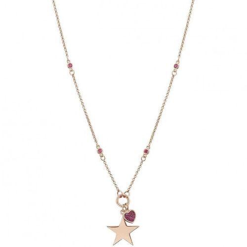 NOMINATION Pendente NIGHTDREAM Cuore Oro Rosa in argento + zirconi