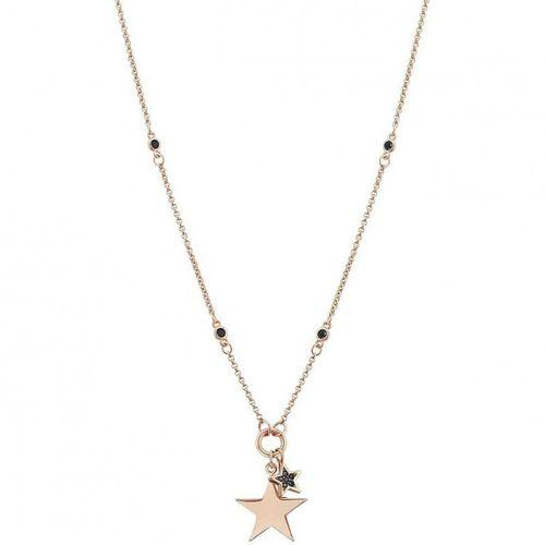 NOMINATION Pendente NIGHTDREAM Stella Oro Rosa in argento + zirconi