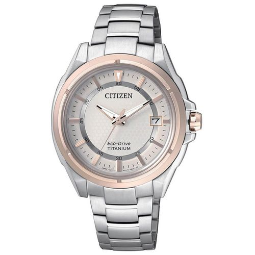 CITIZEN lady 6040 SUPER TITANIUM bicolor