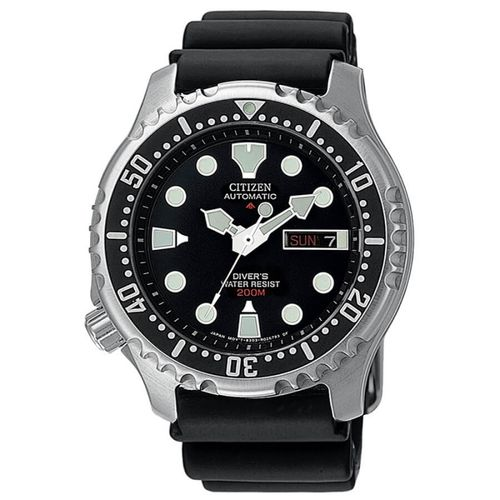 CITIZEN PROMASTER DIVER'S automatic black
