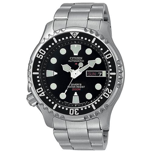 CITIZEN PROMASTER DIVER'S automatic black cintino acciaio