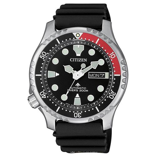 CITIZEN PROMASTER DIVER'S automatic black/red