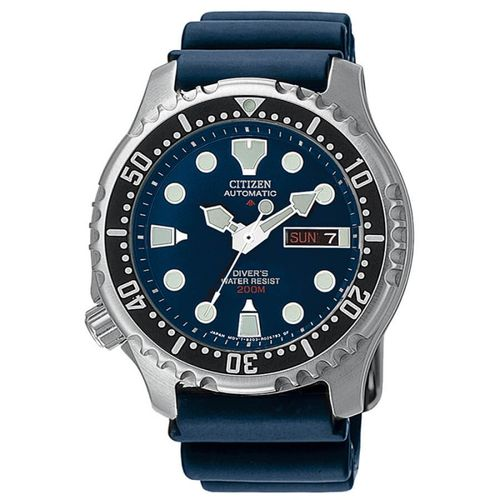 CITIZEN PROMASTER DIVER'S automatic blue 200mt