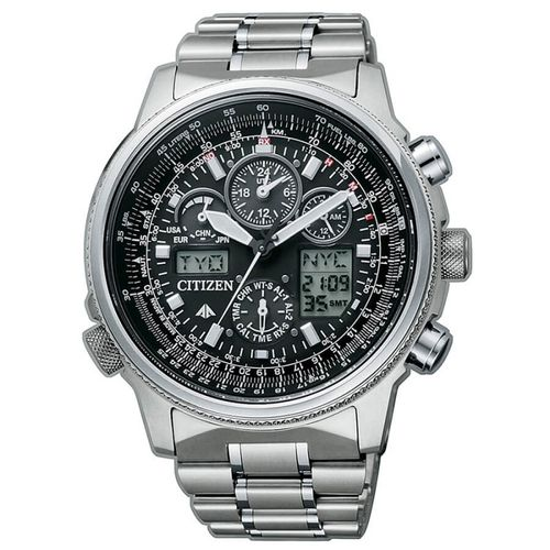 CITIZEN SUPER PILOT radiocontrollato black