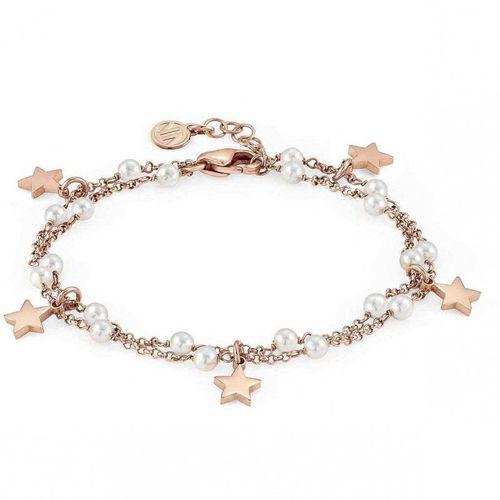NOMINATION Bracciale argento rosato con perle MON AMOUR Stella