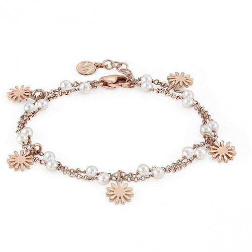 NOMINATION Bracciale argento rosato con perle MON AMOUR Margherita