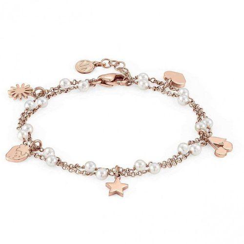 NOMINATION Bracciale argento rosato con perle MON AMOUR Mixed