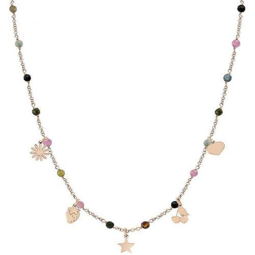 NOMINATION Collana argento rosato con cristalli MON AMOUR Mixed