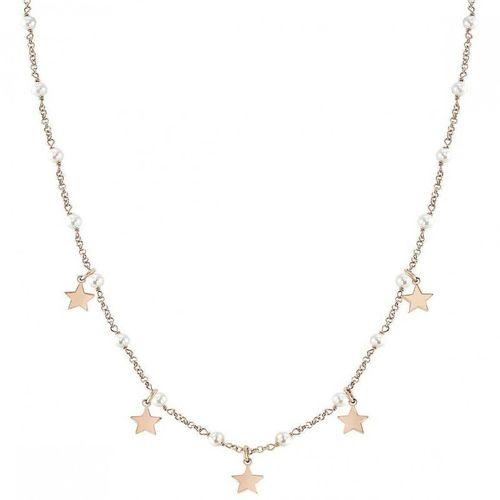 NOMINATION Collana argento rosato con perle MON AMOUR Stella