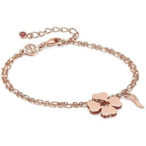 NOMINATION Bracciale Essentials Quadrifoglio Oro Rosa