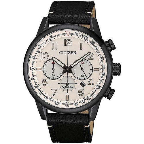 CITIZEN orologio uomo automatico nero con dettagli acciaio