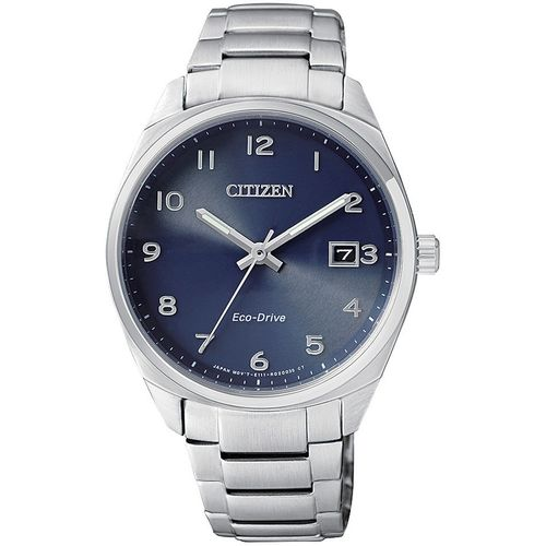 CITIZEN orologio donna acciaio con cassa blu