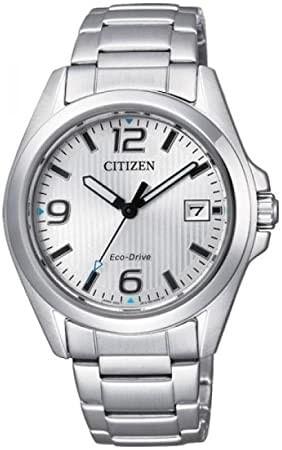 CITIZEN orologio donna in acciaio con cassa grigio chiaro FE6030-52A