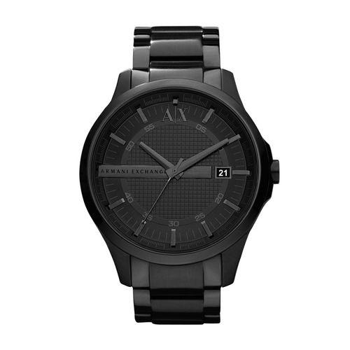 Armani Exchange Orologio Uomo Hampton Total Black in acciaio AX2104