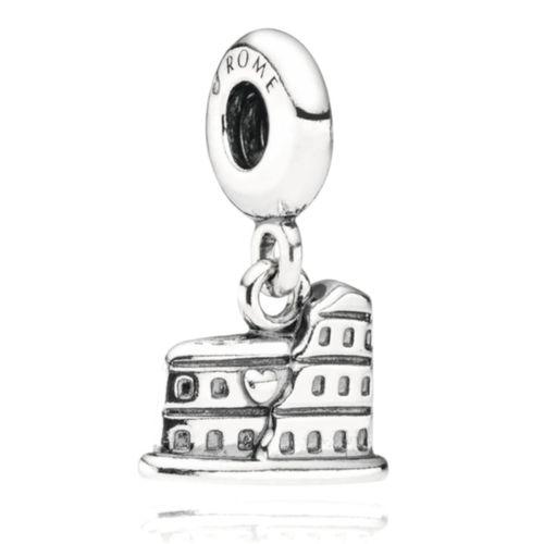 Charm Pandora con pendente Colosseo
