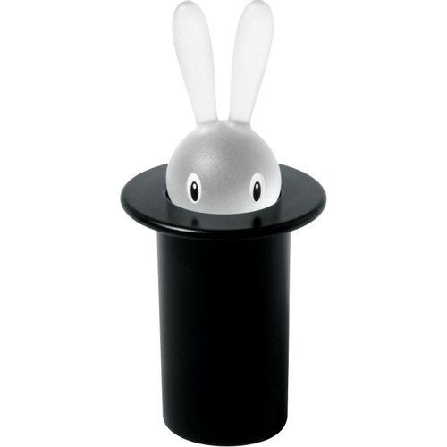 ALESSI Magic Bunny Portastuzzicadenti Nero
