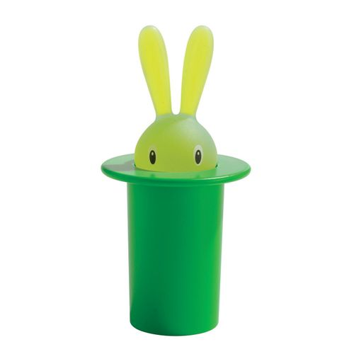 ALESSI Magic Bunny Portastuzzicadenti Verde